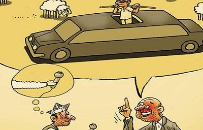 شعر طنز خنده دار, شعر طنز سیاسی جدید