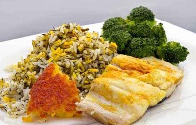 طرز تهیه بریانی ماهی,سبزی پلو ماهی هندی
