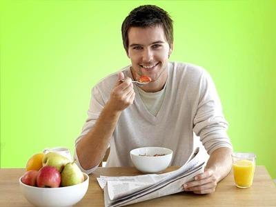 مهمترین وعده غذایی روزانه, خوردن غذا