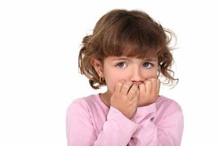 علل جویدن ناخن,علت جویدن ناخن در کودکان
