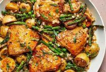 Photo of طرز تهیه ساق مرغ را با سبزیجات بهاری