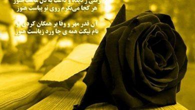 Photo of پیام تسلیت فوت نزدیکان و عزیزان