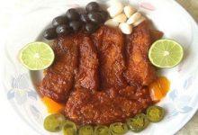 تصویر  طرز تهیه خورش ماهی