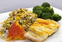 تصویر طرز تهیه سبزی پلو ماهی هندی