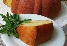تصویر طرز تهیه کیک ماست و لیمو