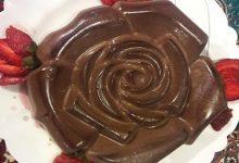 تصویر طرز تهیه کرم شکلات