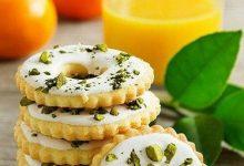 تصویر طرز تهیه شیرینی لیمویی یا پرتقالی