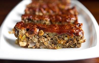 غذاهای پاییزی برای گیاهخواران,کوفته قالبی سیب و عدس و گردو,طرز تهیه کوفته قالبی سیب و عدس و گردو,درست کردن کوفته قالبی سیب و عدس و گردو