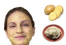 تصویر زیبایی پوست با سیب زمینی و معرفی چند ماسک سیب زمینی