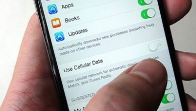 تصویر اپلیکیشن های آیفون را در مصرف اینترنت همراه محدود کنیم