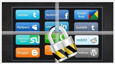 راه حل امنیت شبکه اجتماعی, سایتهای شبکه های اجتماعی