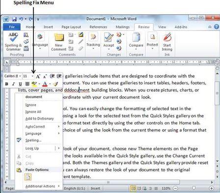 ترفندهای ورد, آموزش گام به گام مایکروسافت ورد,کوچکنمایی در مایکروسافت ورد,مایکروسافت Word 2010