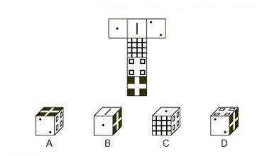 تصویر تست هوش تصویری: پاسخ صحیح را بیابید؟