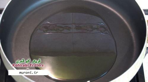 طرز تهیه فریتر کلم قمری مرحله به مرحله,دستور پخت فریتر