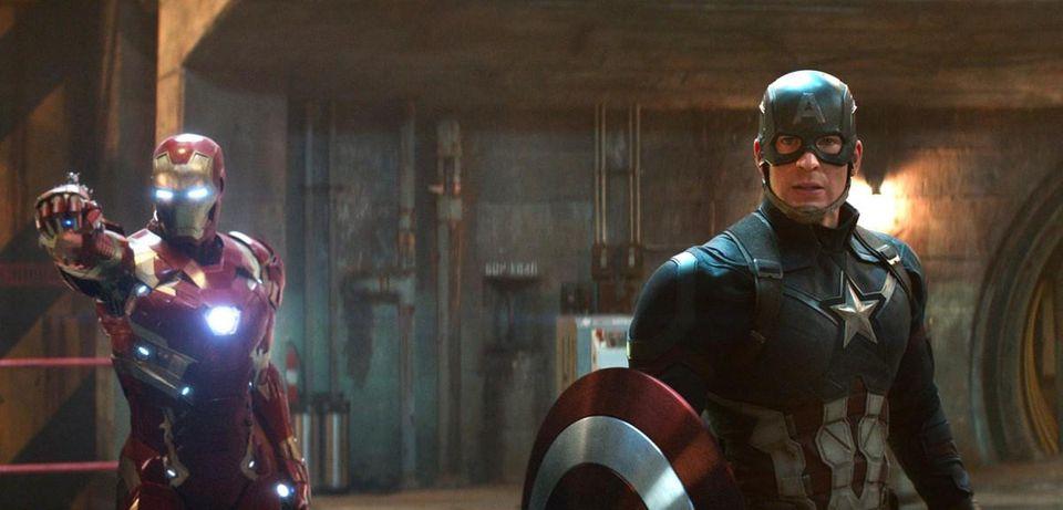 دانلود فیلم Captain America Civil War 2016 کاپیتان آمریکا جنگ داخلی - دوبله فارسی