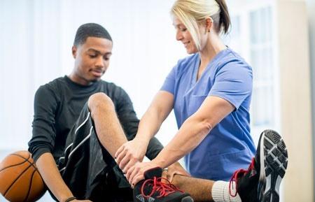 فیزیوتراپی ورزشی,درمان با ورزش,آسیب های ورزشی