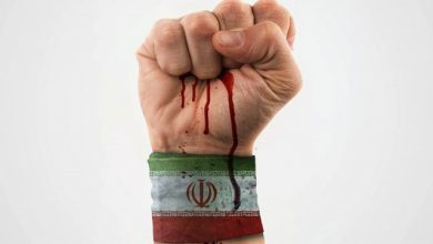 تصویر عکس نوشته حمایت از رهبر، ایران و سپاه برای پروفایل و استوری