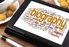 تصویر بیوگرافی یا زندگینامه چیست؟